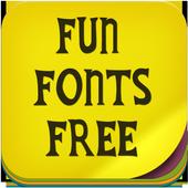 Fun Fonts Free icon