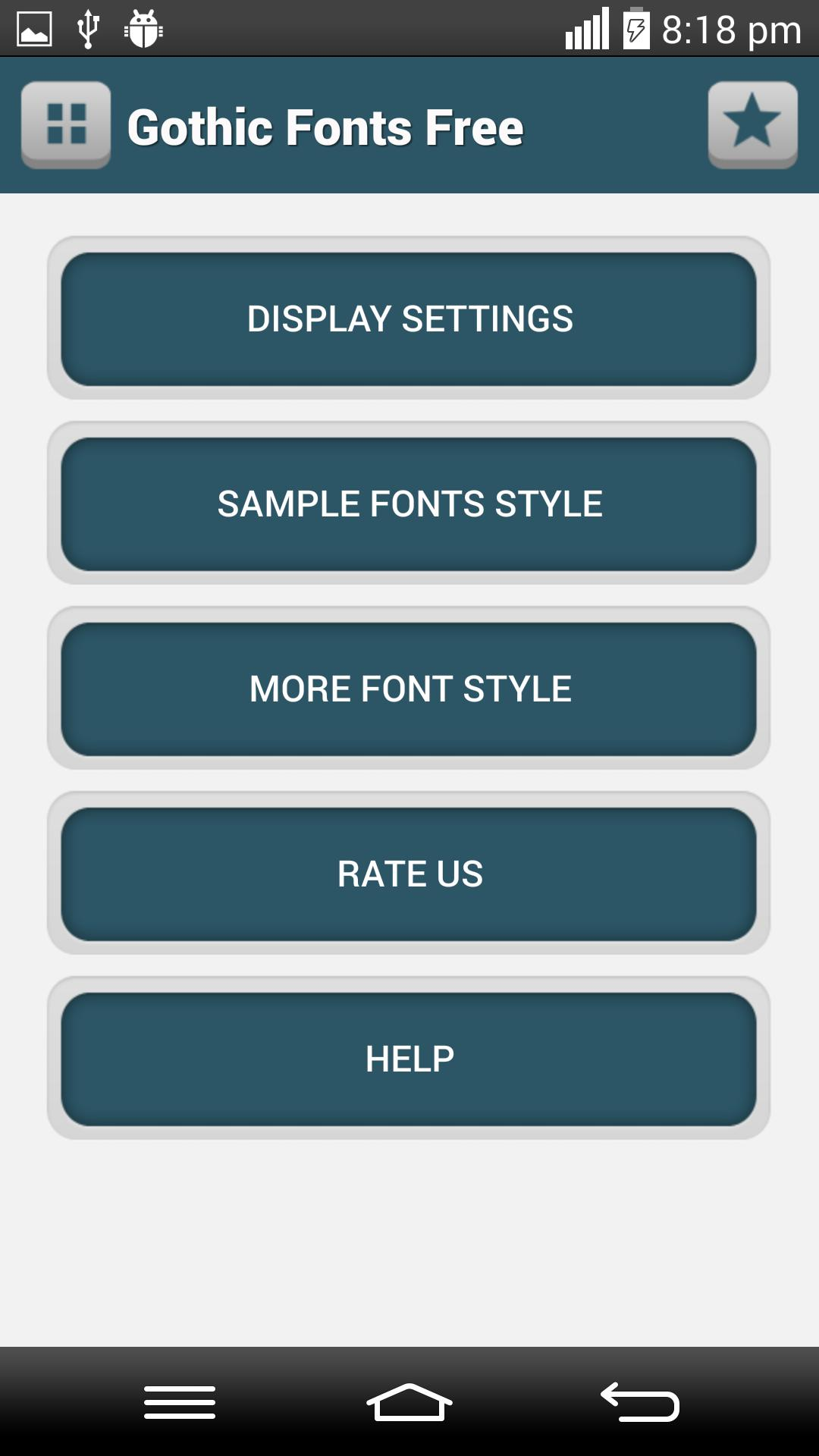 💋 Gothic font apk free download | Gothic Fonts for FlipFont free