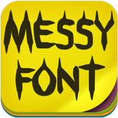 Messy Fonts icon