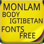 Monlam body igtibetan Fonts icon