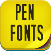 Pen Fonts icon