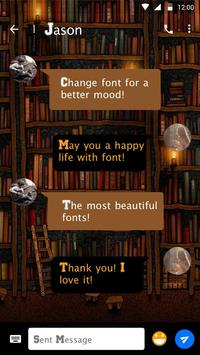 Book Font for FlipFont , Cool Fonts Text Free apk screenshot