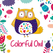 Colorful Owl icon