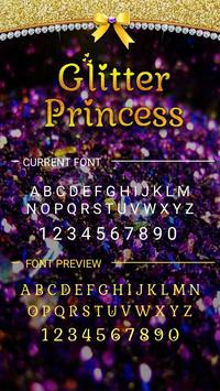 Glitter Princess Font for FlipFont,Cool Fonts Text apk screenshot