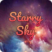 Starry Sky Font for FlipFont ,Cool Fonts Text Free icon