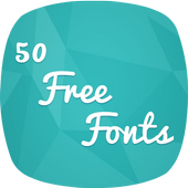 50 Free Fonts icon