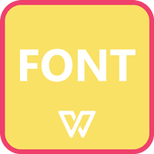 Fonts for WPS Office icon