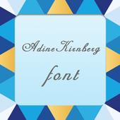 AdineKirnberg font icon