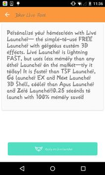 Stylish font #2- Live Launcher poster