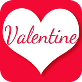 Valentine Fonts for free icon