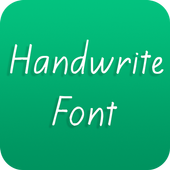 Handwrite Font for Oppo phone icon