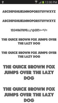 Fonts Cool for FlipFont® free poster