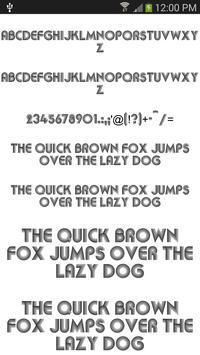 Fonts Cool for FlipFont® free screenshot 3