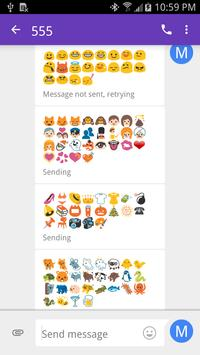 Emoji Fonts for FlipFont 2 poster