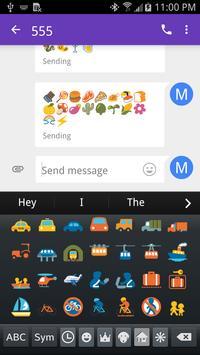Emoji Fonts for FlipFont 2 screenshot 1