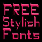 Stylish Fonts for FlipFont icon
