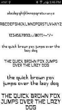 Stylish Fonts poster