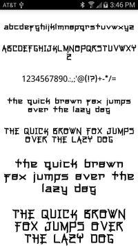 Stylish Fonts screenshot 2