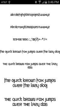 Stylish Fonts for FlipFont apk screenshot