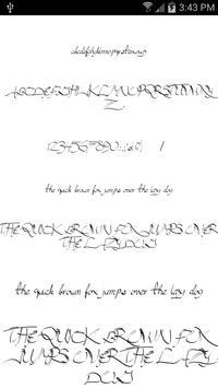 Fonts for FlipFont Script Font screenshot 5