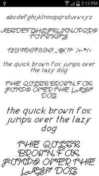 Fonts for FlipFont #13 poster