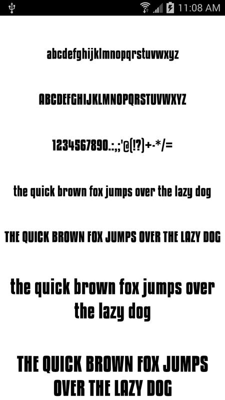Download Fonts for FlipFont 50 #6 for Android - APK Download
