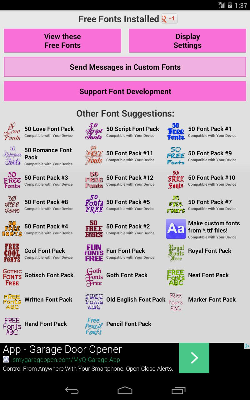 Fonts for FlipFont 50 #6 for Android - APK Download