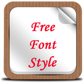 Free Font Style icon