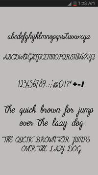 Free Fonts Pencil pack screenshot 1