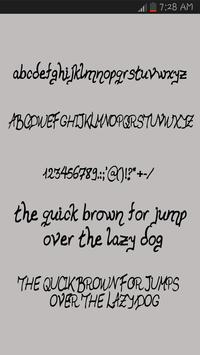 Free Movies Fonts screenshot 3
