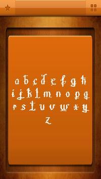 Free Tattoo Fonts apk screenshot