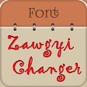 Free Zawgyi Font Changer icon