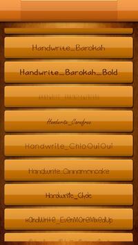 Handwrite Font Style Free screenshot 1