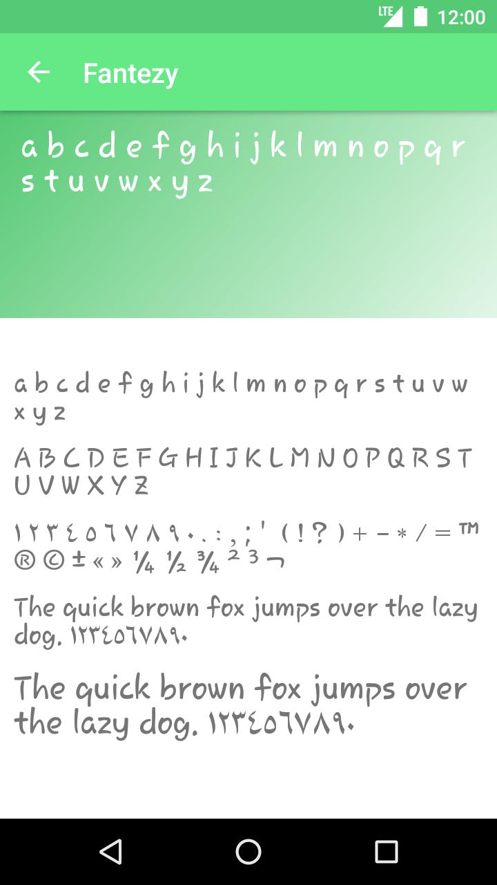 Download Arabic Fonts for Android - APK Download