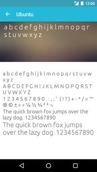 Clean Fonts for FlipFont apk screenshot