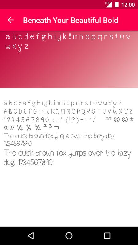 carmine tango flip fonts apk