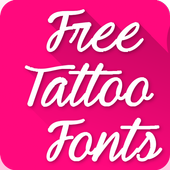 Tattoo Fonts for FlipFont icon