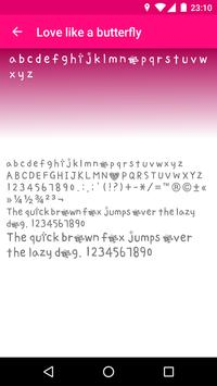 Tattoo Fonts for FlipFont apk screenshot