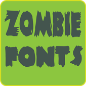 Zombie Fonts for FlipFont icon