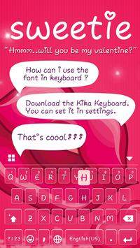 Sweetie Font For iKeyboard apk screenshot