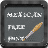 Mexican Font Style icon