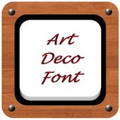 Art Deco Font Style icon