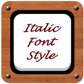 Italic Font Style for Android - APK Download
