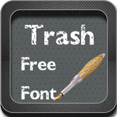 Trash Fonts for Galaxy s4 icon