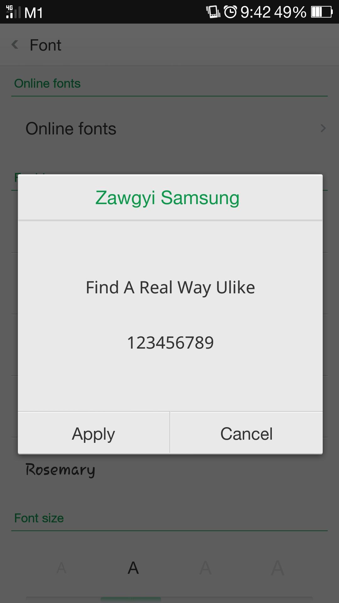 Zawgyi Samsung for Android - APK Download