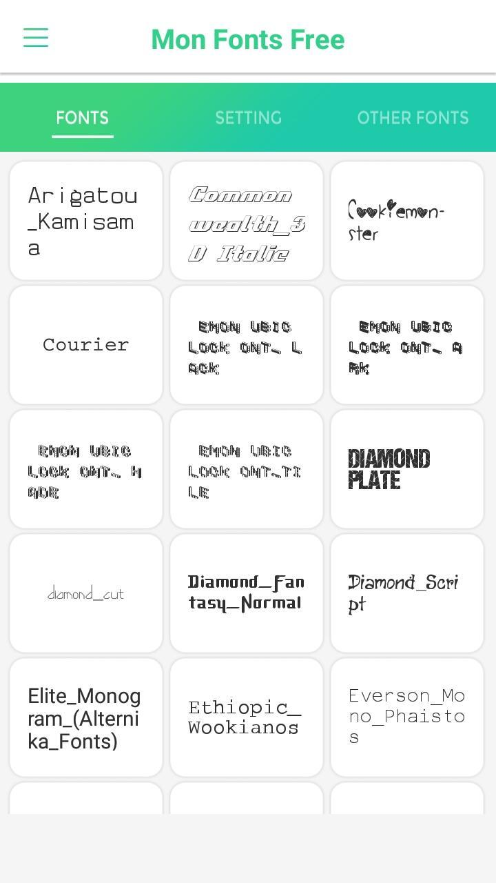 Mon Fonts Free for Android - APK Download