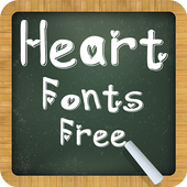 Heart Fonts Free icon