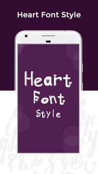 Heart Fonts Free screenshot 3