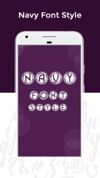 Navy Fonts Free screenshot 3