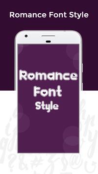 Romance Fonts Free screenshot 1